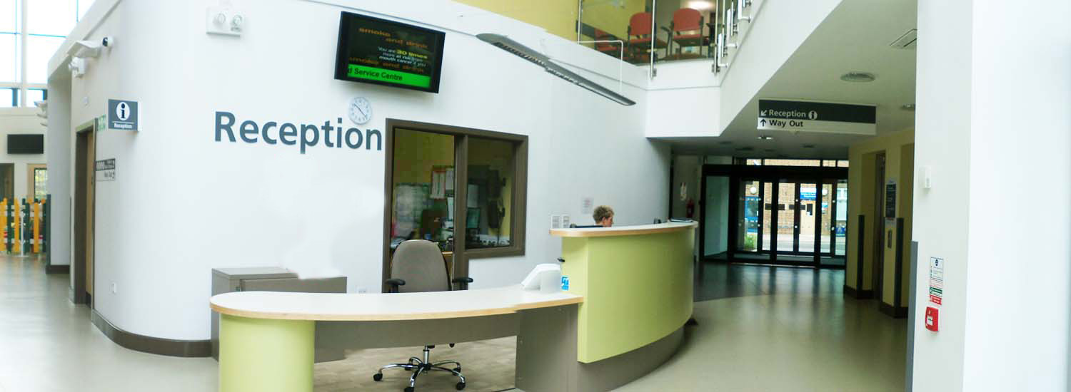 FM and Reception staff in action